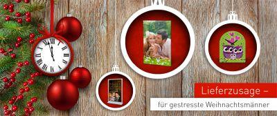 Weihnachten - Freude schenken mit persönlichen Geschenken