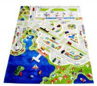 """Kinderteppich, Kinderspielteppich """"City"""" 3D, von IVI"""