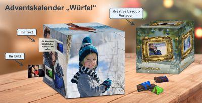 Foto-Würfel Adventskalender