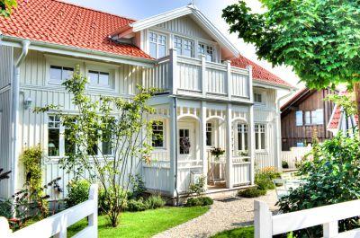 Sie sind chic und trendy: Amerikanische Holzhäuser im Neu England-Stil