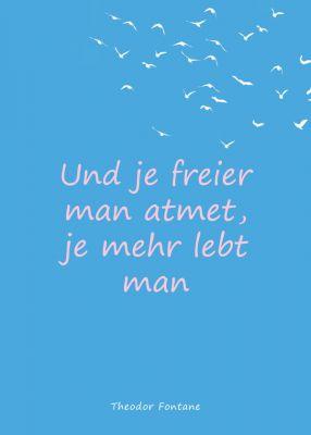 Einzigartig, positive Aussagen, typografisch perfekt gestaltet. Die neue Postkarten-Serie von ProjektMarketing Peter Vennebusch