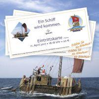 Eintrittskarte zum Aber IV Informationsabend bei Germens in Chemnitz