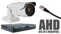 AHD Kameras - moderne Full-HD-Bildqualität, ohne die Kabel zu wechseln