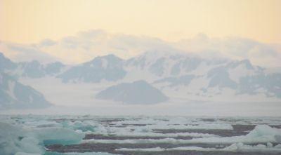 Operationsgebiet der Expedition Arctic Ocean Raptor