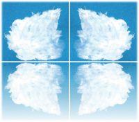 Das Ava-Seinn-Logo ist das Sinnbild der Ur-Famlilie, wo Eltern sich im Spiegel der Kinder erkennen
