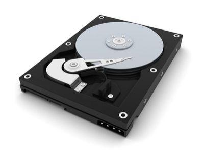 SAN Datenrettung nach Festplattenausfall, Festplatte Innenansicht, Foto: Fotolia.de