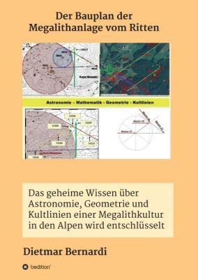 """""""Der Bauplan der Megalithanlage vom Ritten"""" von Dietmar Bernardi"""