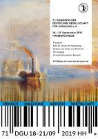 Vom 18. bis 21. September 2019 findet in der Hamburg Messe der 71. Kongress der DGU e.V. statt.