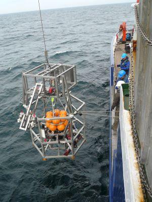 Im Digital Ocean Lab des Fraunhofer IGD kann Unterwassertechnik unter echten Bedingungen getestet werden.