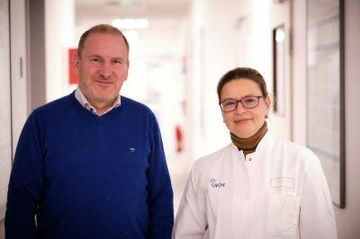 Die Tagungspräsidenten: Prof. Dr. med. Sabine Kliesch und Univ.-Prof. Dr. rer. nat. Stefan Schlatt aus Münster.