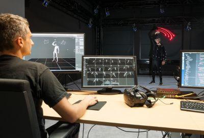 Das Motion Capture Labor der Fakultät Informatik ist eines der hochmodernen Labore der Fakultät Informatik.