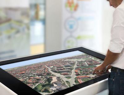 smarticipate ist eine Software-Plattform zur Bürgerbeteiligung auf Basis interaktiver 3D-Stadtmodelle. (Bildrecht: Fraunhofer IGD)