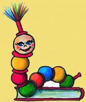Kinderbuch Bubu der Buchstabenwurm mit Lesebegleiter