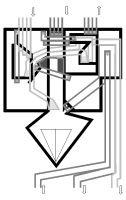 Frühes Modell einer Ausführungsart des Patents