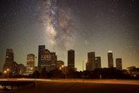 Lichtverschmutzung und Nachthimmel