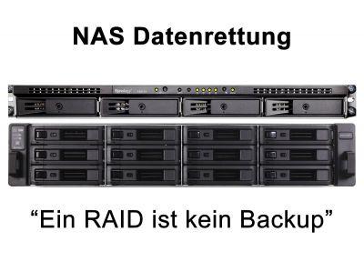 Daten wiederherstellen von NAS, durch RecoveryLab München