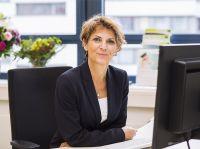 Heide Traemann an ihrem neuen Arbeitsplatz - als Kanzlerin der bbw Hochschule in Berlin