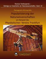 """""""Popularisierung der Naturwissenschaften ..."""" von Gudrun Wolfschmidt und Panagiotis Kitmeridis"""