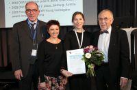 vlnr. Prof. Dr. med. Horst Olschewski,  Anne-Christin Kopp, Phd Diana Zabini, Hans-Dieter Kulla