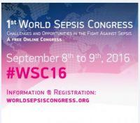 Der Welt-Sepsis-Kongress am 8-9. September 2016 findet komplett online statt.