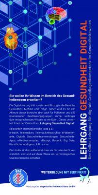 """""""Gesundheit.Digital"""": eLearning für mehr Wissen rund um Telemedizin"""