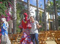 Nicola Hohm absolvierte an der Universität Pablo de Olavide in Sevilla 2013/14 ein Erasmussemester im spanischen Recht