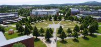 Blick auf den Campus der Universität Bayreuth. Copyright: Lili Nahapetian; mit Autorangabe zur Veröffentlichung frei