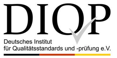 Logo des DIQP Deutsches Institut für Qualitätsstandards und -prüfung e.V.