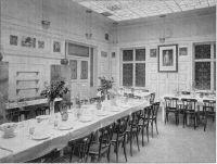 Der gemeinsame Speisesaal im Einküchenhaus