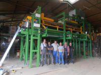 Rund 100.000 gefüllte Mauerziegel hat das Unipor-Mitgliedsunternehmen Schmid in Bönnigheim bis April 2015 bereits produziert.