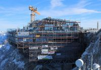 Brucker Unternehmen beteiligt auf Deutschlands höchster Baustelle