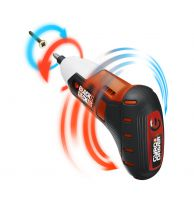 Die Hand lenkt, das Gerät denkt. Mit dem Gyro Driver von Black & Decker hält Bewegungssteuerung nun auch bei Werkzeugen Einzug.