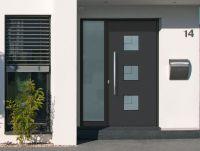 Aluminium-Haustüren - Attraktiv, wärmedämmend und sicher   Foto: Wirus-Fenster