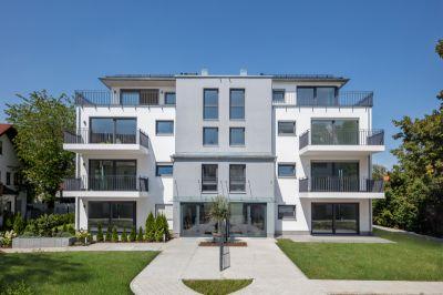 Massives Mehrfamilienhaus aus Mauerwerk im Münchner Bezirk Sendling genügt hohen energetischen Ansprüchen (Bild: Unipor, München).