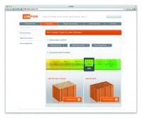 Neue Unipor-Website: Gezielte Informationen zu den passenden Unipor-Ziegelprodukten.