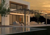AREA led - LEINER Terrassenglassystem mit LED-Beleuchtung