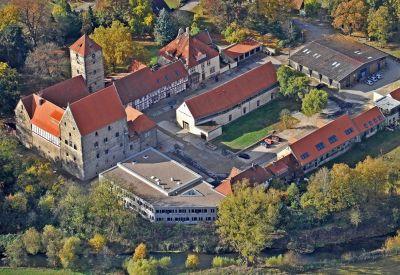 Die Domäne Marienburg ist eine spätmittelalterliche Wasserburg im südlichen Teil von Hildesheim. Foto: Andreas Hartmann
