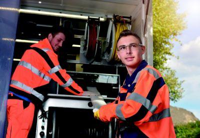 Der Q-Logger erfasst alle Ergebnisse der Inliner-Sanierung. Foto: Sanierungstechnik Dommel