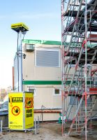 Baucontainer zuverlässig vor Einbruch schützen