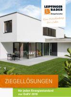 Auf einen Blick: Die neue Infoschrift informiert über energetische Qualitäten der Unipor-Mauerziegel von Leipfinger Bader.
