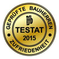 Vertrauenssiegel der Qualitätsgemeinschaft ifb Institut und BAUHERRENreport