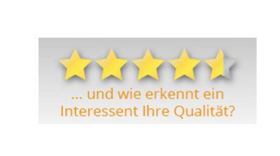 So jedenfalls wird Qualität im BAUHERREN-PORTAL.COM dargestellt