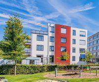 Stadtvillen in Kornwestheim: Lichtdurchflutete Räume unterstreichen die angenehme Wohnatmosphäre der Unipor-Ziegel.