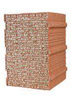 Mauerziegel gelten als feuerbeständig - sie tragen nicht zur Brandlast und Rauchentwicklung bei (Bild: UNIPOR, München).
