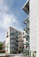 Im Auftrag von berlinovo errichtet Brüninghoff ein sechsgeschossiges Apartmenthaus für Studierende in Berlin. Foto: Brüninghoff