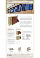 Die neu gestaltete Webseite der Brüninghoff Holz informiert auch über die Fertigung von Fassadenelementen. Foto: Brüninghoff