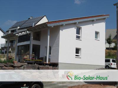 Fertighaus in der Bio-Solar-Haus-Bauweise