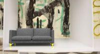 (c) coozii. making it yours! | IKEA KARLSTAD Sofa mit KARLA Möbelfüßen