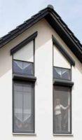 Auch Sonderelemente wie Rolladen mit Schräge werden vom Sicht- und Sonnenschutzhersteller Folgner gefertigt.   Foto: Folgner GmbH