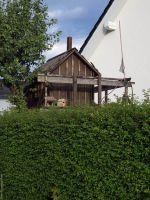 Gartenhaus in luftiger höhe das Baumhaus
